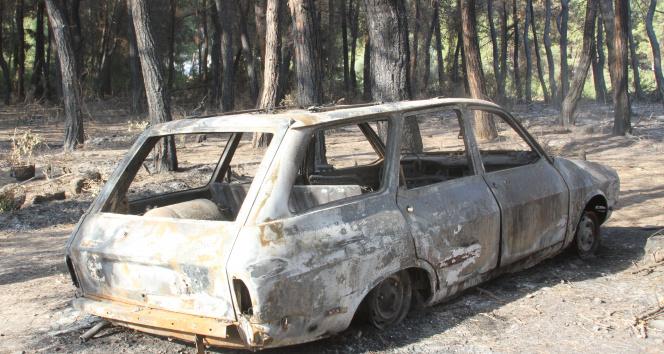 Manavgat merkezdeki ilk yangın böyle başladı