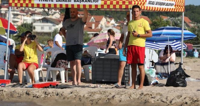 Kocaelide 119 kişi boğulmaktan kurtarıldı