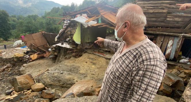Selde evi yıkıldı, annesi kayboldu, dehşet anlarını böyle anlattı