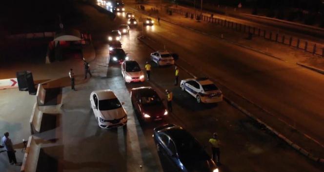 43 ilin geçiş güzergâhında HES kodu denetimi: Riskli yolcuya 4 bin 50 lira ceza