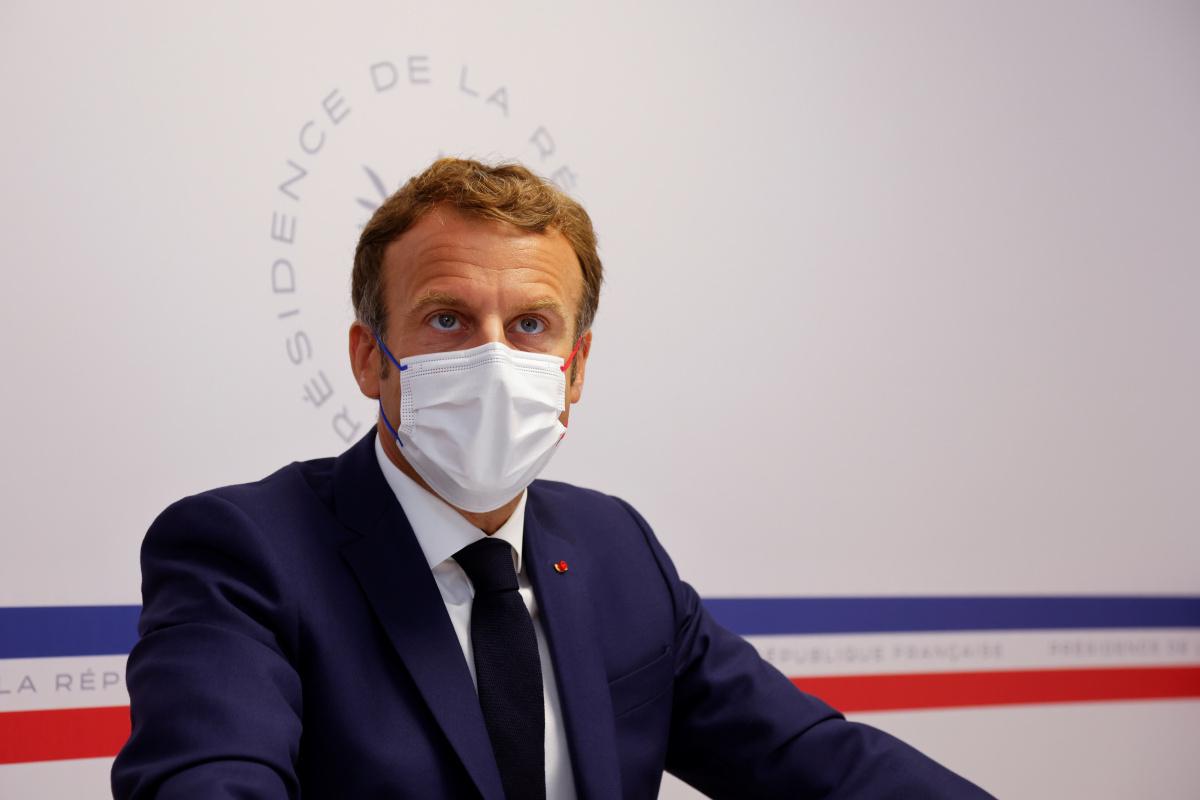 Macron: 'Afganistan, bir zamanlar olduğu gibi teröristlerin cenneti haline gelmemeli'