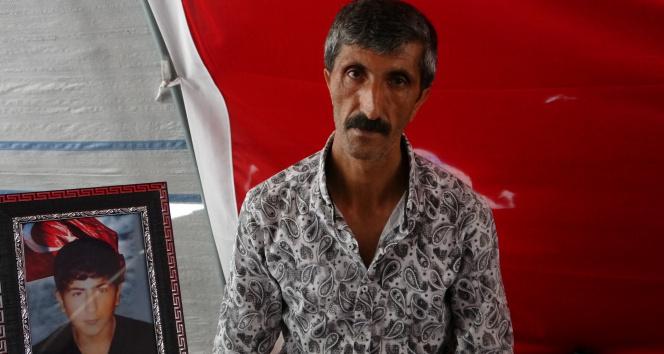 Evlat nöbetindeki babadan HDPye: Kandilin partisisin, Kürtü hiçbir zaman savunmadın