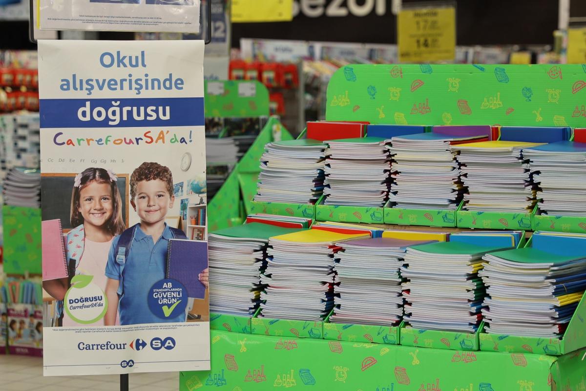 Kırtasiye ve okul alışverişinde AB standartlarında güvenli ürün