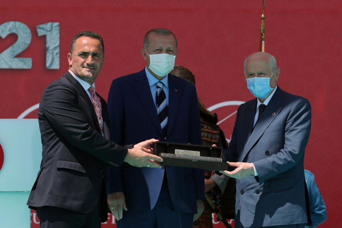 Cumhurbaşkanı Erdoğan: Büyük ve güçlü Türkiye yolunun kesilmesine rıza göstermeyeceğiz