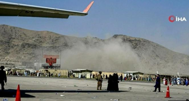 Kabilde Hamid Karzai Uluslararası Havalimanında ard arda patlamalar!