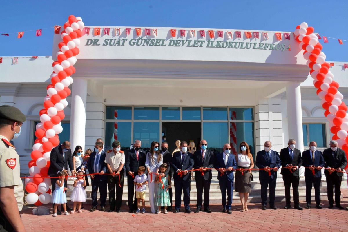 Dr. Suat Günsel Devlet İlkokulu Lefkoşa eğitime açıldı