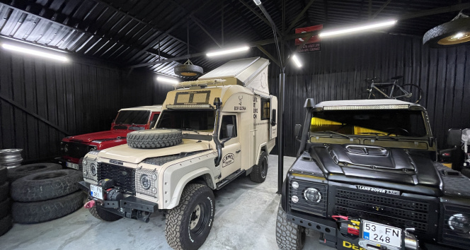 Pandemide artan talep arazi araçlarını karavana dönüştürdü