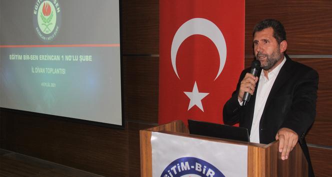 Eğitim-Bir-Sen Erzincan Şube Başkanı Gül: Öğretmenlere zorunlu PCR testi yapılmasını doğru bulmuyorum