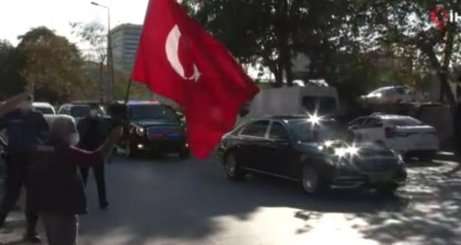 Cumhurbaşkanı Erdoğan Rami Kışlasında incelemelerde bulundu