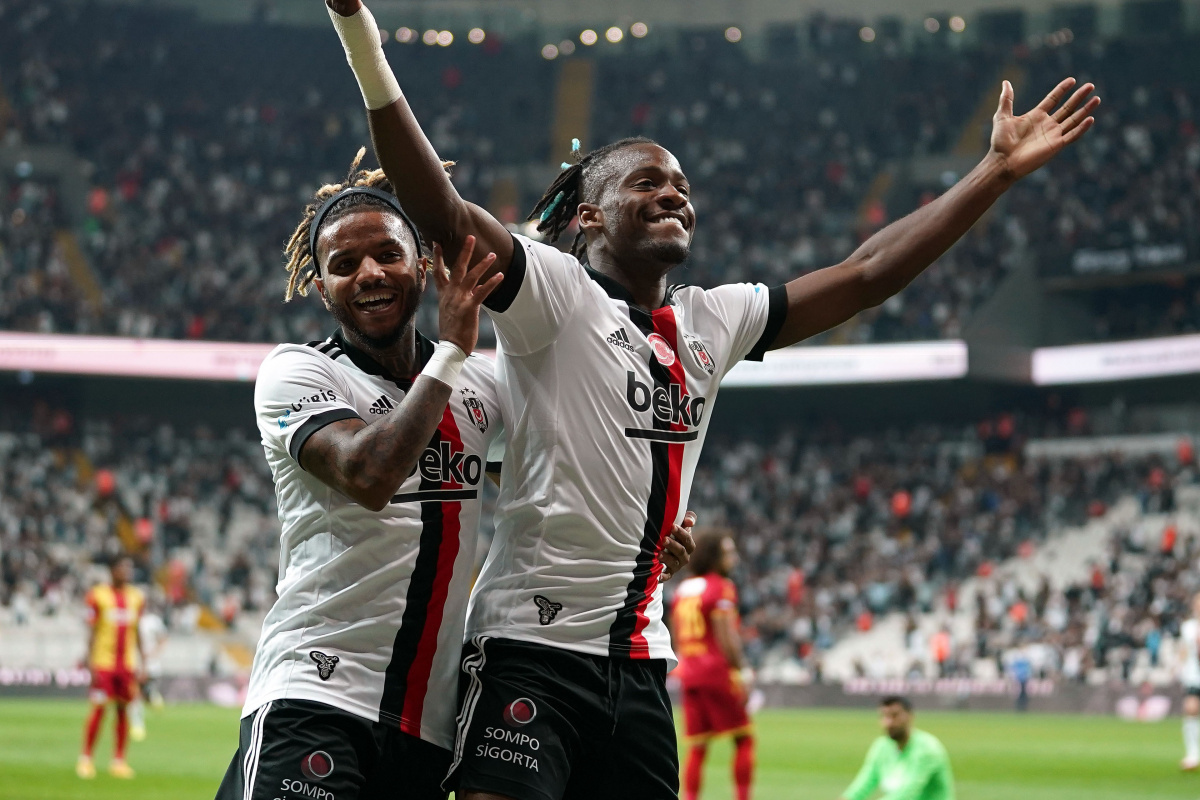 Beşiktaş güle oynaya kazandı
