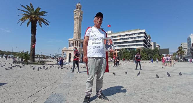742 gündür evlat nöbeti tutan baba Ankaraya yürüyüşe geçti