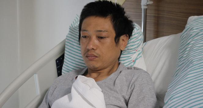 12 yıl önce dünya turuna çıkan Japon turist Elazığda bıçaklandı