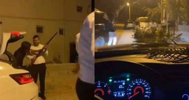 Antalyadaki silahlı driftli magandalar yakalandı
