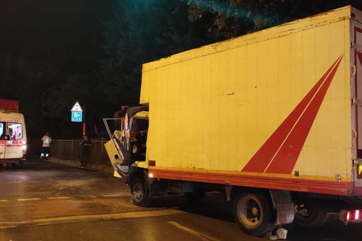 Bahçelievler'de zincirleme trafik kazası: 1 yaralı