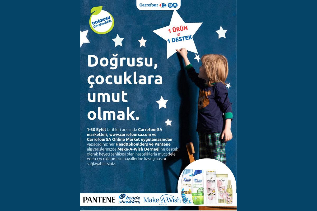 CarrefourSA'dan çocuklara umut olacak kampanya