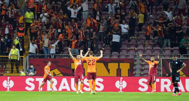 Galatasaraydan Lazioya karşı ikinci galibiyet