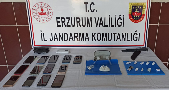Erzurumda uyuşturucu operasyonu