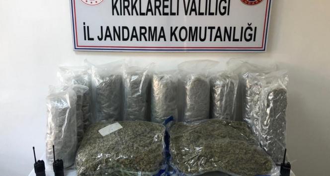 Kırklarelinde uluslararası uyuşturucu çetesine operasyon: 4ü Bulgar 5 gözaltı