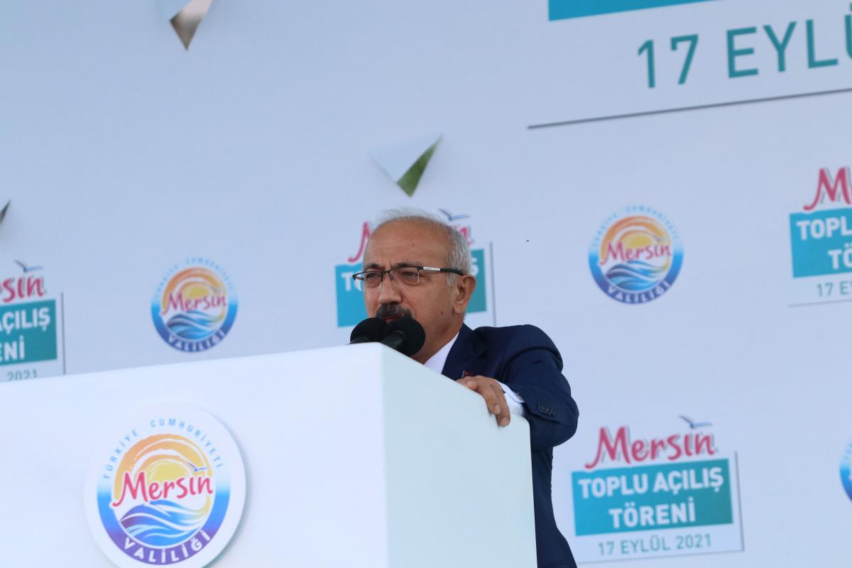 Bakan Elvan: 'Mersin, Akdeniz'in parlayan yıldızı'