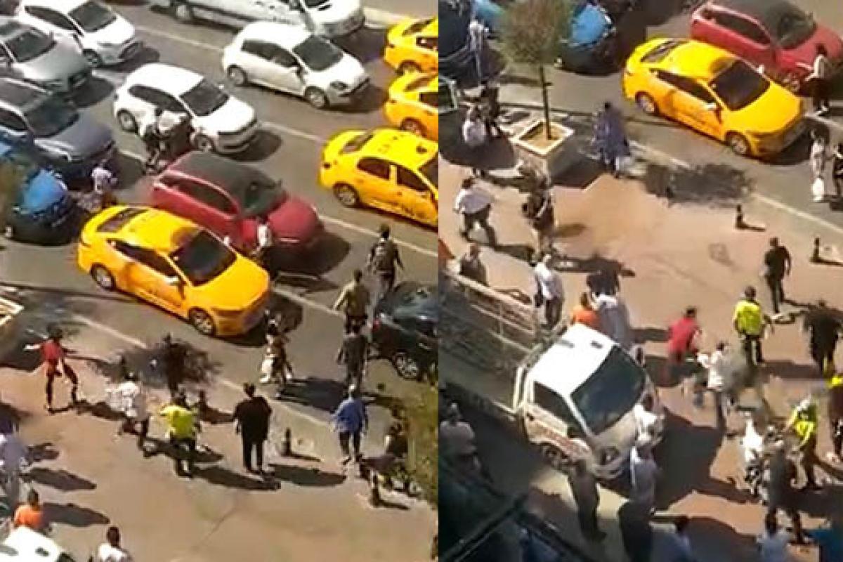 İstanbul'un göbeğinde cam silici terörü: Bıçak ve sopayla mekan bastılar