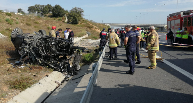 Pendikte feci kaza: Anne ve baba hayatını kaybetti, 2 çocuğu yaralandı