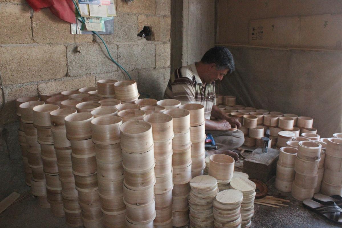 Pekmez küleği Türkiye'de sadece Kilis'te üretiliyor