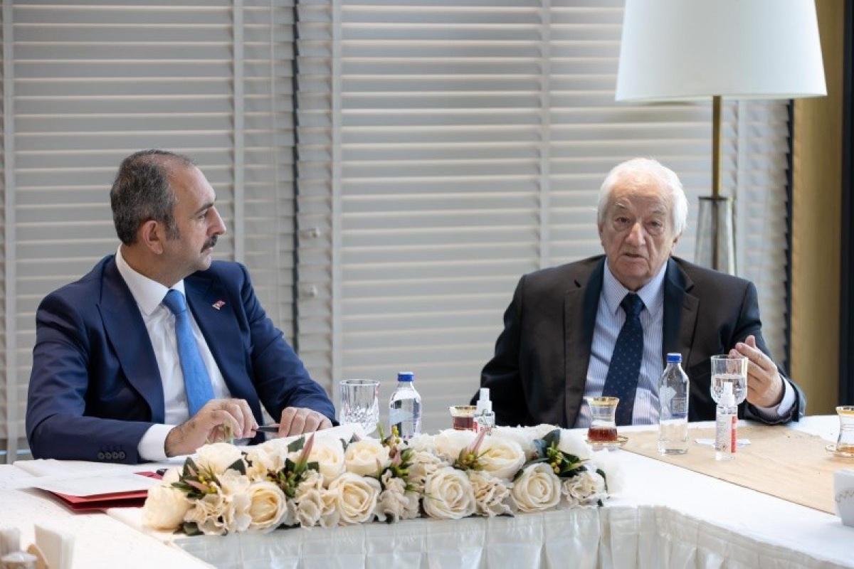 Adalet Bakanı Gül: 'Reform çalışmalarında ortak aklın izini sürmeye devam edeceğiz'