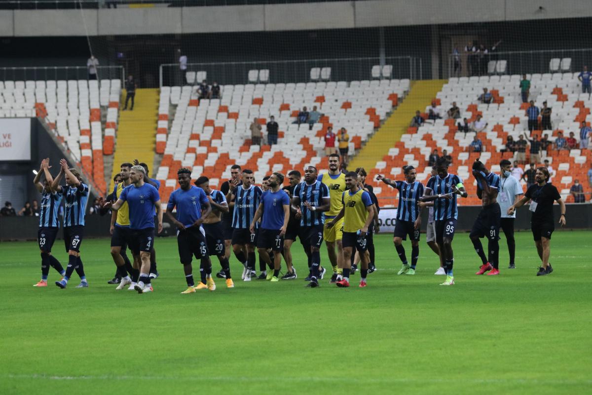 Adana Demirspor 3 puanla tanıştı