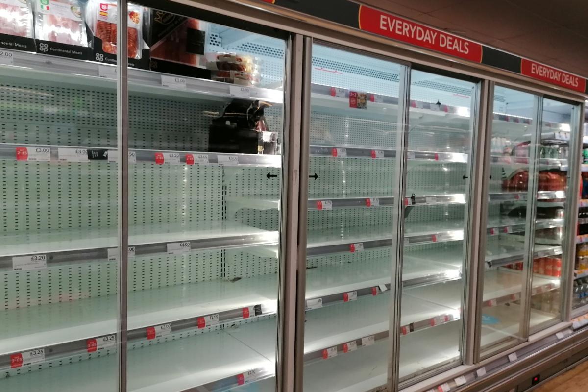 İngiltere'de gıda kıtlığı yeniden gündemde