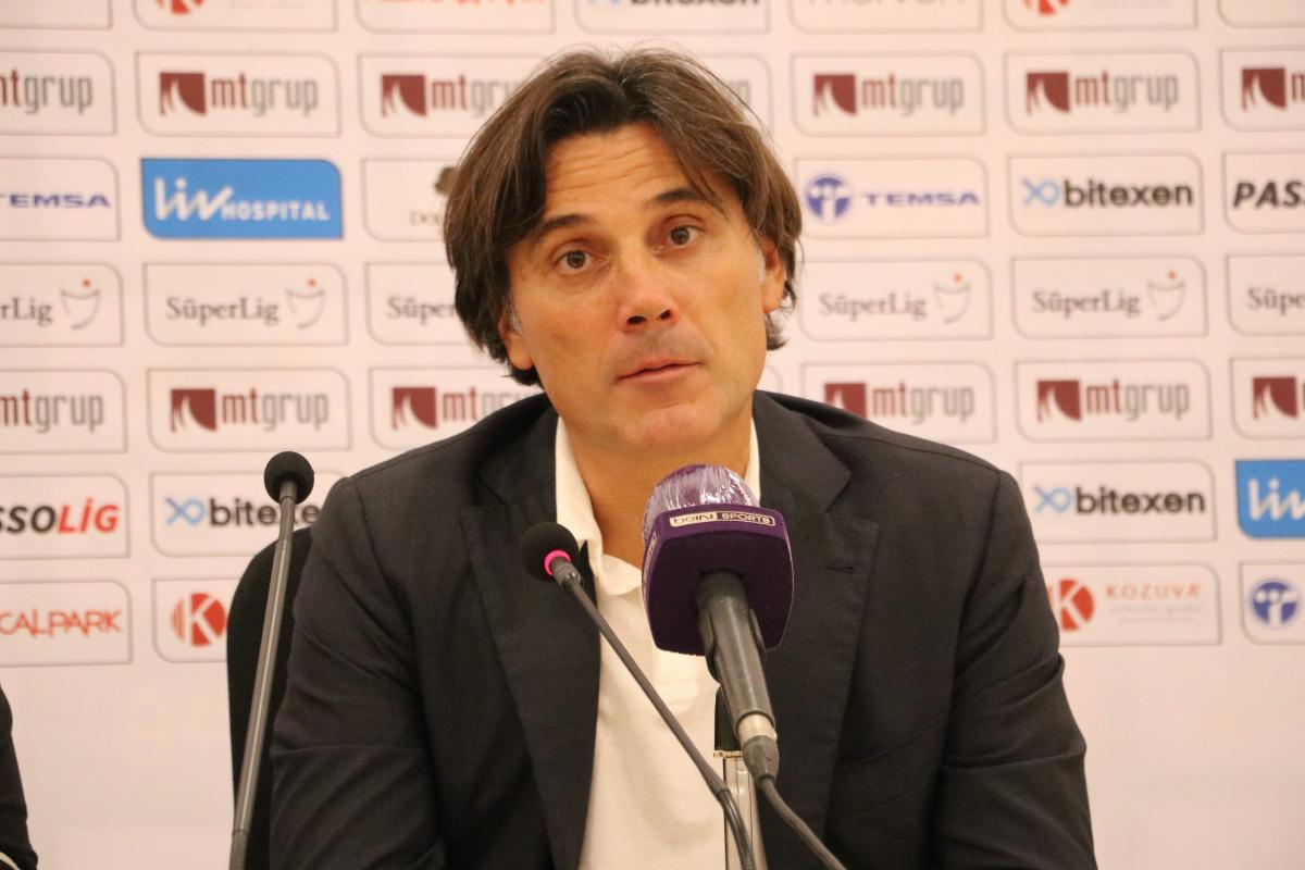 Vincenzo Montella: 'Daha fazla gol atabilirdik'
