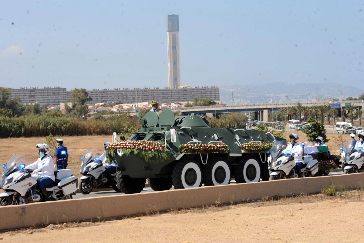 Cezayir'in eski Cumhurbaşkanı Bouteflika son yolculuğuna uğurlandı
