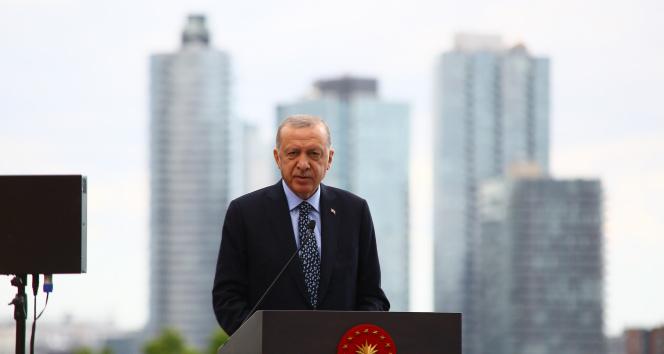 Cumhurbaşkanı Erdoğan, New Yorkun merkezindeki Türkevini açtı