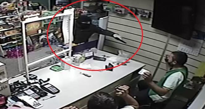 Samsunda akaryakıt istasyonunda silahlı soygun