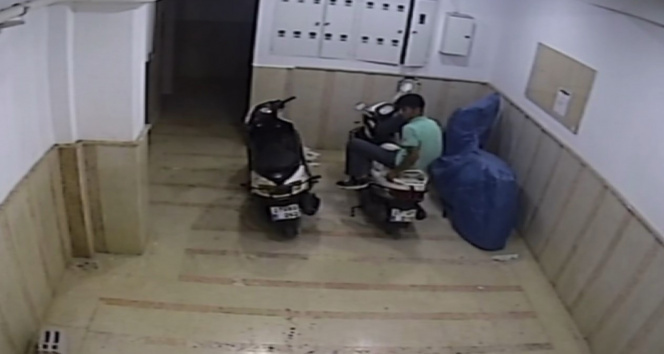 Motosiklet hırsızlarının rahatlığı pes dedirtti