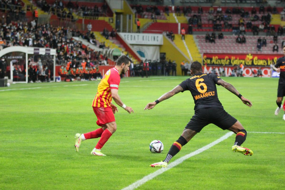 Galatasaray'a Kayseri'de büyük şok!