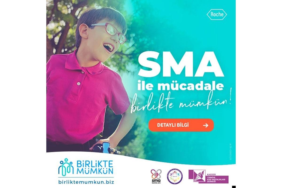 'Birlikte Mümkün' projesi ile SMA'nın önlenebilir bir hastalık olduğuna dikkat çekiliyor