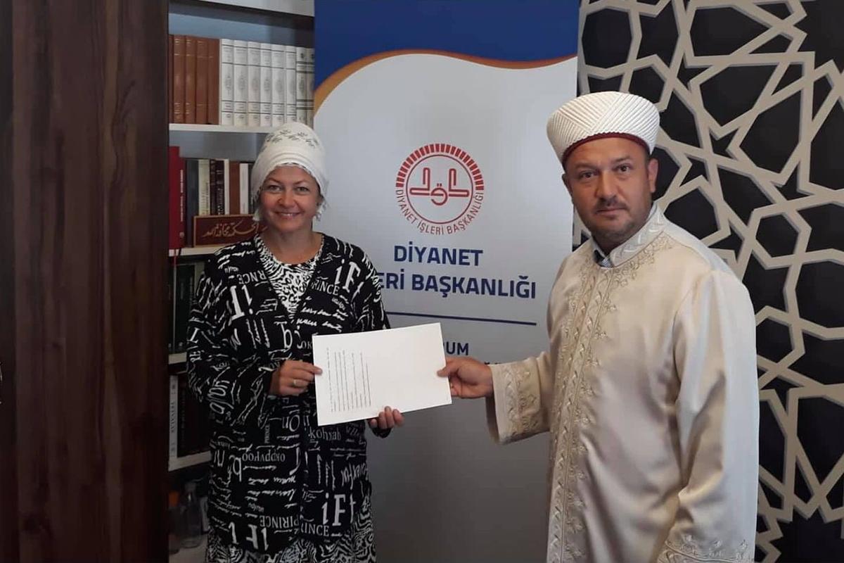 Rusya vatandaşı Müslümanlığı seçti