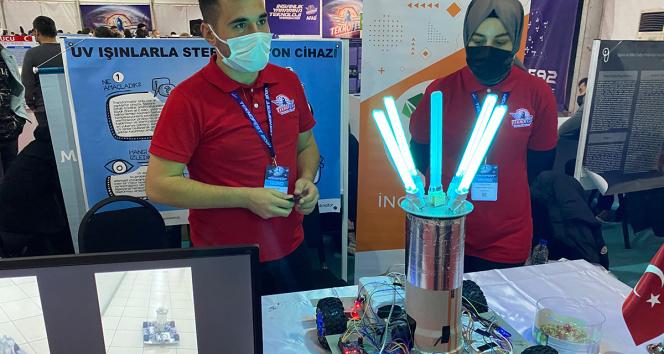 Korona virüsle mücadelede UV ışınları ile temizlik