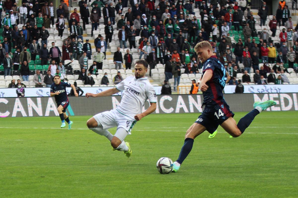 Trabzonspor Konya'da takıldı