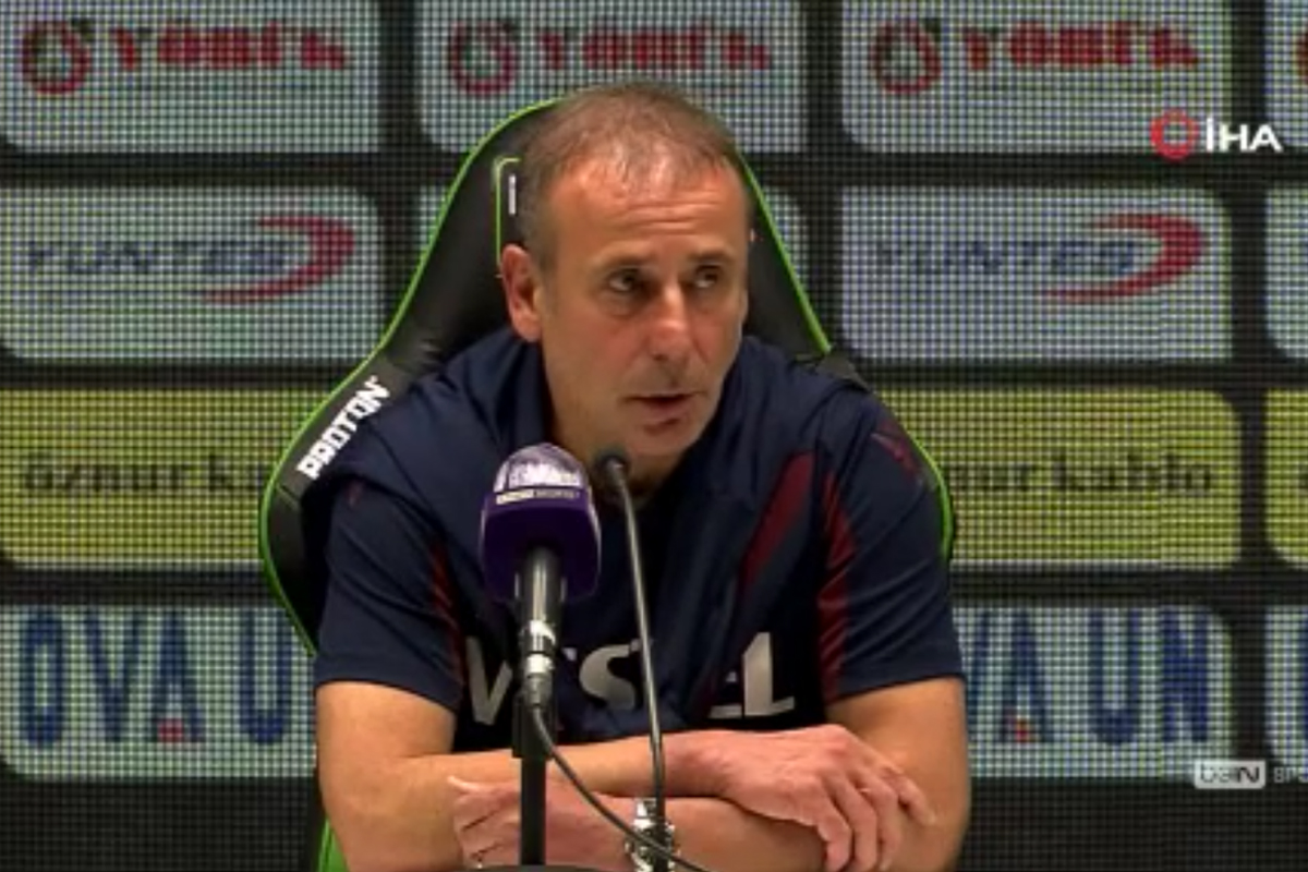 Abdullah Avcı: 'Her iki tarafa giden bir maç oldu'
