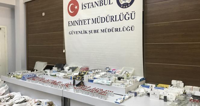 İstanbulda sahte Covid-19 ilaç operasyonu: 4,5 milyon TLlik sahte ilaç ele geçirildi