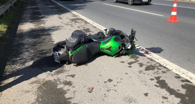 TEMde feci motosiklet kazası: 1 ölü