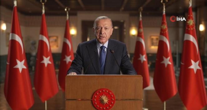 Cumhurbaşkanı Erdoğandan BM Enerji Diyaloğu Toplantısına video mesaj