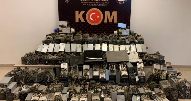 Konyada kripto para operasyonu: 1 gözaltı