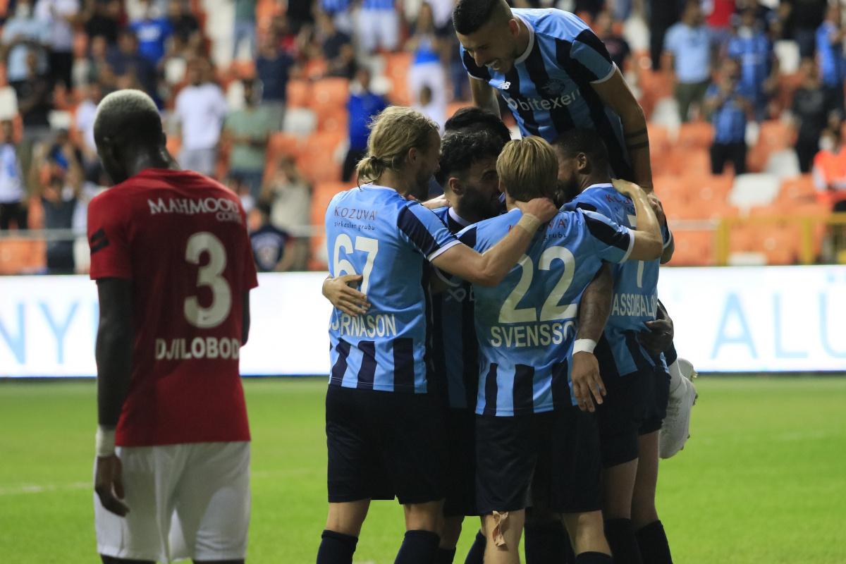 Adana Demirspor, Gaziantep FK'yi farklı mağlup etti