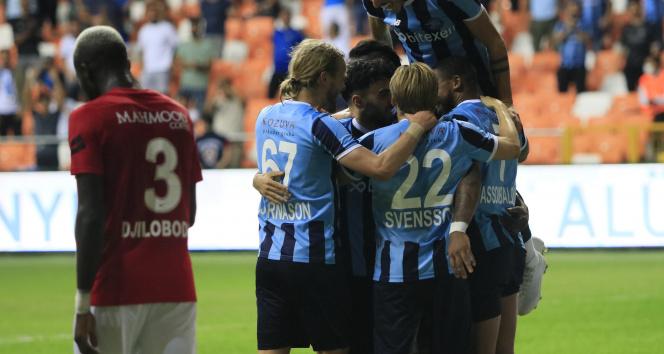 Adana Demirspor, Gaziantep FKyi farklı mağlup etti