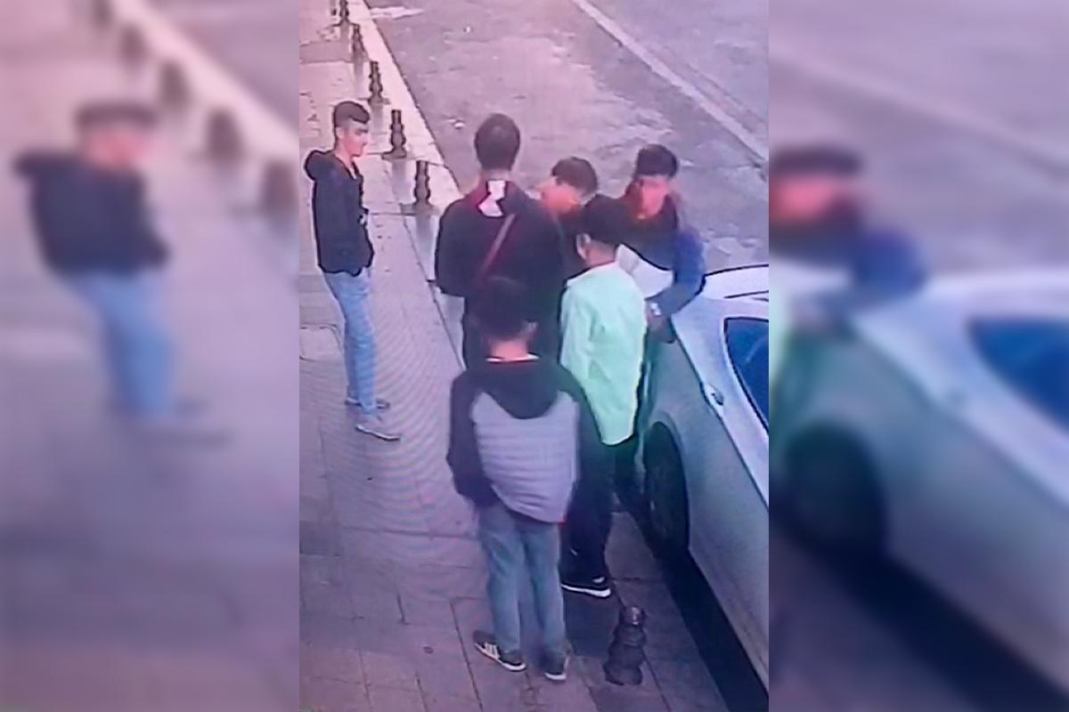 Beyoğlu'nda organize yankesicilik, kameraya yansıdı