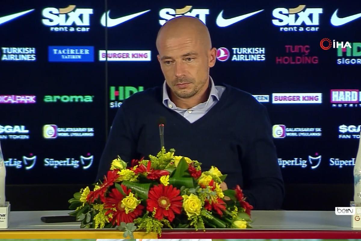 """Nestor El Maestro: """"İstediğimizi alamadığımız için üzgünüz"""""""