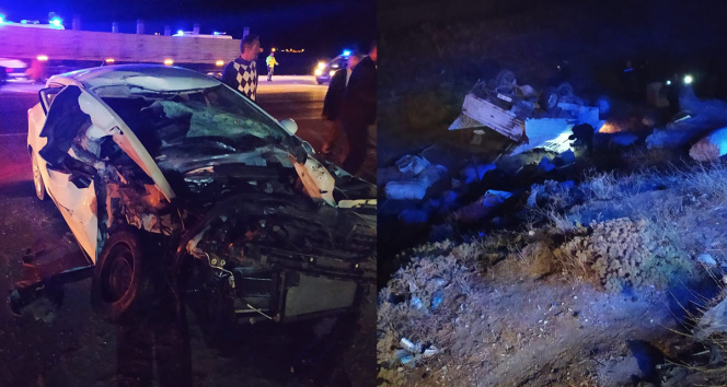 Tatvanda trafik kazası: 7 yaralı