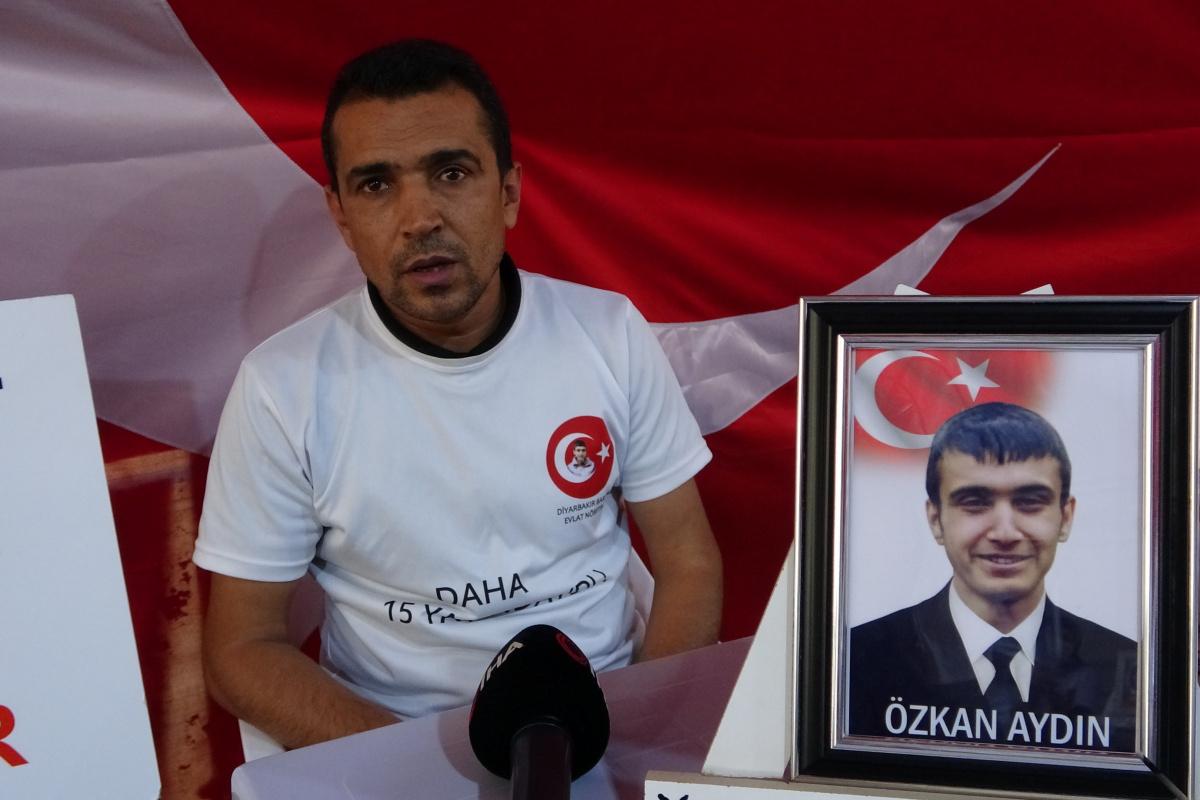 Evlat nöbeti tutan baba Aydın HDP'li vekillere tepki gösterdi
